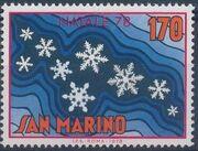 San Marino 1978 Christmas c