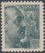 Spain 1939 General Franco - 1st Group d