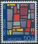 Switzerland 1971 PRO PATRIA - Contemporary Stained Glass Windows d