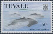 Tuvalu 1998 Dolphins and Porpoises b