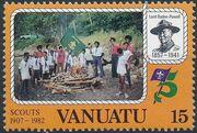 Vanuatu 1982 75th Anniversary of Boy Scout Movement a