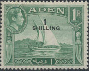 Aden 1951 King George VI Pictorials with New Values h