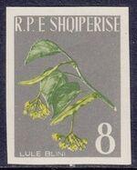 Albania 1962 Medicinal Plants e