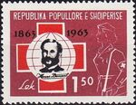 Albania 1963 100th Anniversary of Red Cross a