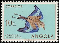 Angola 1951 Birds from Angola b