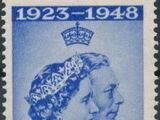 Antigua 1949 Silver Wedding of King George VI & Queen Elizabeth