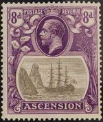 Ascension 1924 Seal of the Colony ua