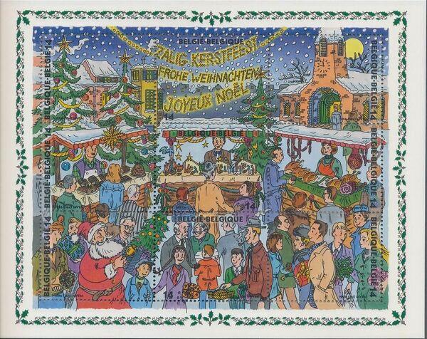 Belgium 1996 Christmas and New Year SSa