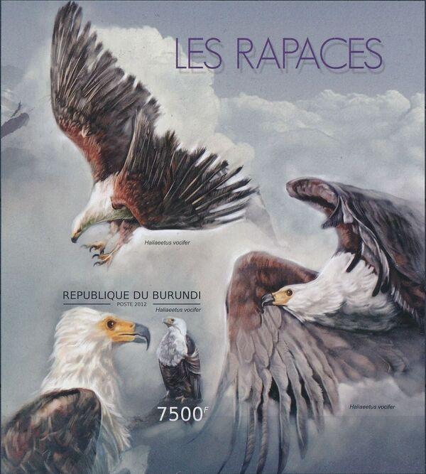 Burundi 2012 Birds of prey b