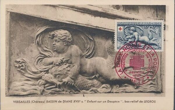 France 1952 Surtax for the Red Cross MCc