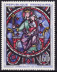 France 1964 800th Anniversary of Notre Dame Cathedral a