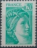 France 1978 Sabine after Jacques-Louis David (1748-1825) (2nd Issue) f