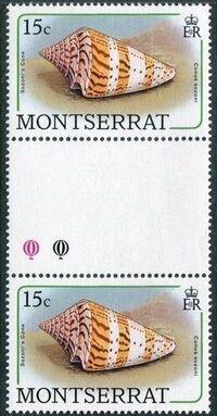 Montserrat 1988 Sea Shells gc