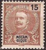 Mozambique 1898 D. Carlos I d