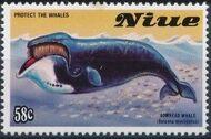 Niue 1983 Protect the Whales e