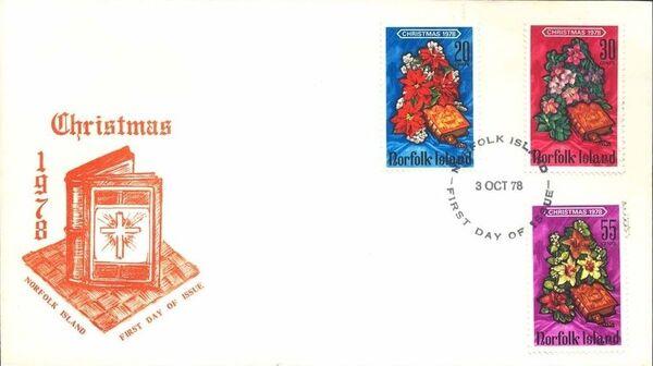 Norfolk Island 1978 Christmas FDCa