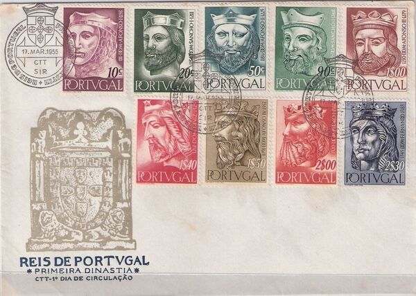 Portugal 1955 Portuguese Kings j