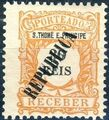 St Thomas and Prince 1913 Postage Due Stamps - 1st Overprint d.jpg