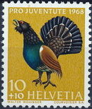 Switzerland 1968 PRO JUVENTUTE - Birds a