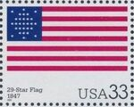 United States of America 2000 The Stars and Stripes n