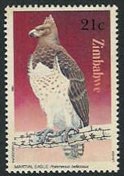 Zimbabwe 1984 Birds of prey e