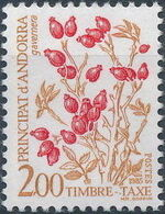 Andorra-French 1985 Flowers (Postage Due Stamps) g