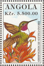 Angola 1996 Hummingbirds c