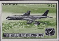 Burundi 1967 Opening of the Jet Airport at Bujumbura and International Tourist Year e