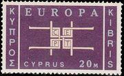 Cyprus 1963 Europa a