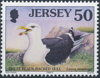 Jersey 1998 Seabirds and waders (3rd Issue) h