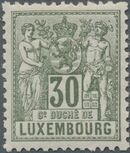 Luxembourg 1882 Industry and Commerce j