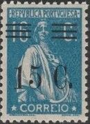 Portugal 1928 Ceres Surcharged g