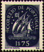 Portugal 1943 Portuguese Caravel (2nd Issue) f