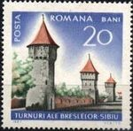 Romania 1967 International Tourist Year - Castles and Fortifications a