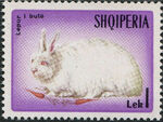 Albania 1967 Hares and Rabbits h