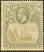Ascension 1924 Seal of the Colony da
