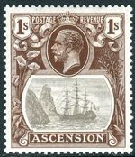 Ascension 1924 Seal of the Colony jb