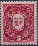 Cameroon 1947 Postage Due Stamps c