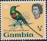 Gambia 1963 Birds a