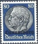 German Occupation-Luxembourg 1940 Stamps of Germany (1933-1936) Overprinted in Black o