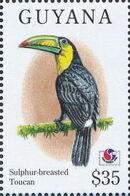 Guyana 1994 Birds of the World (PHILAKOREA '94) w