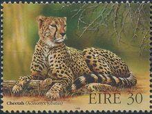 Ireland 1998 Endangered Animals a