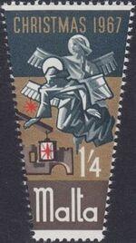 Malta 1967 Christmas c