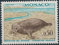 Monaco 1970 20th Anniversary of World Federation for Protection of Animals c