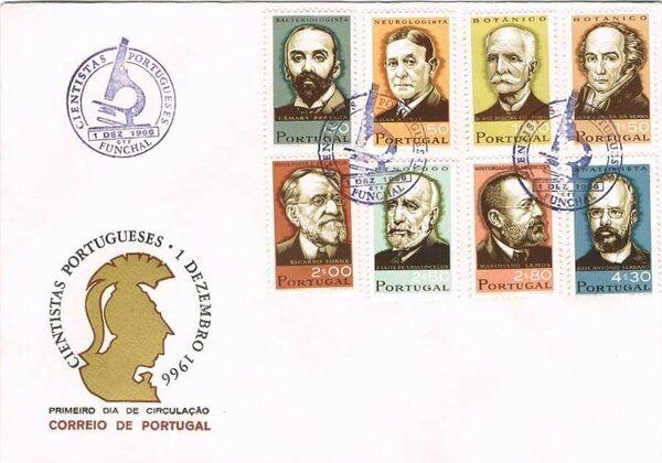 Portugal 1966 Portuguese Scientists i