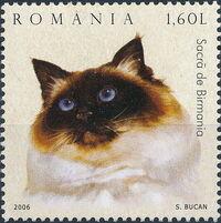 Romania 2006 Cats f