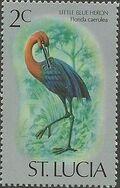 St Lucia 1976 Birds b