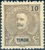 Timor 1903 D. Carlos I - New Values and Colors e
