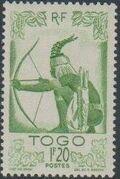 Togo 1947 Native Scenes f