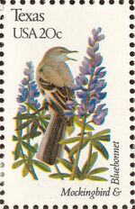 United States of America 1982 State birds and flowers zo